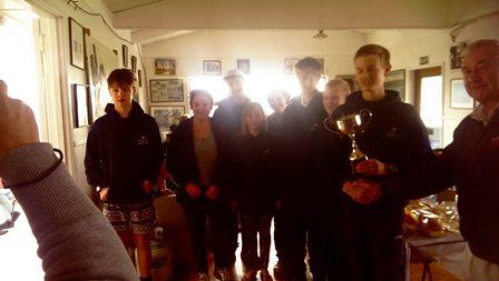 Winning Team - Wentworth College