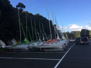 Boats set-up